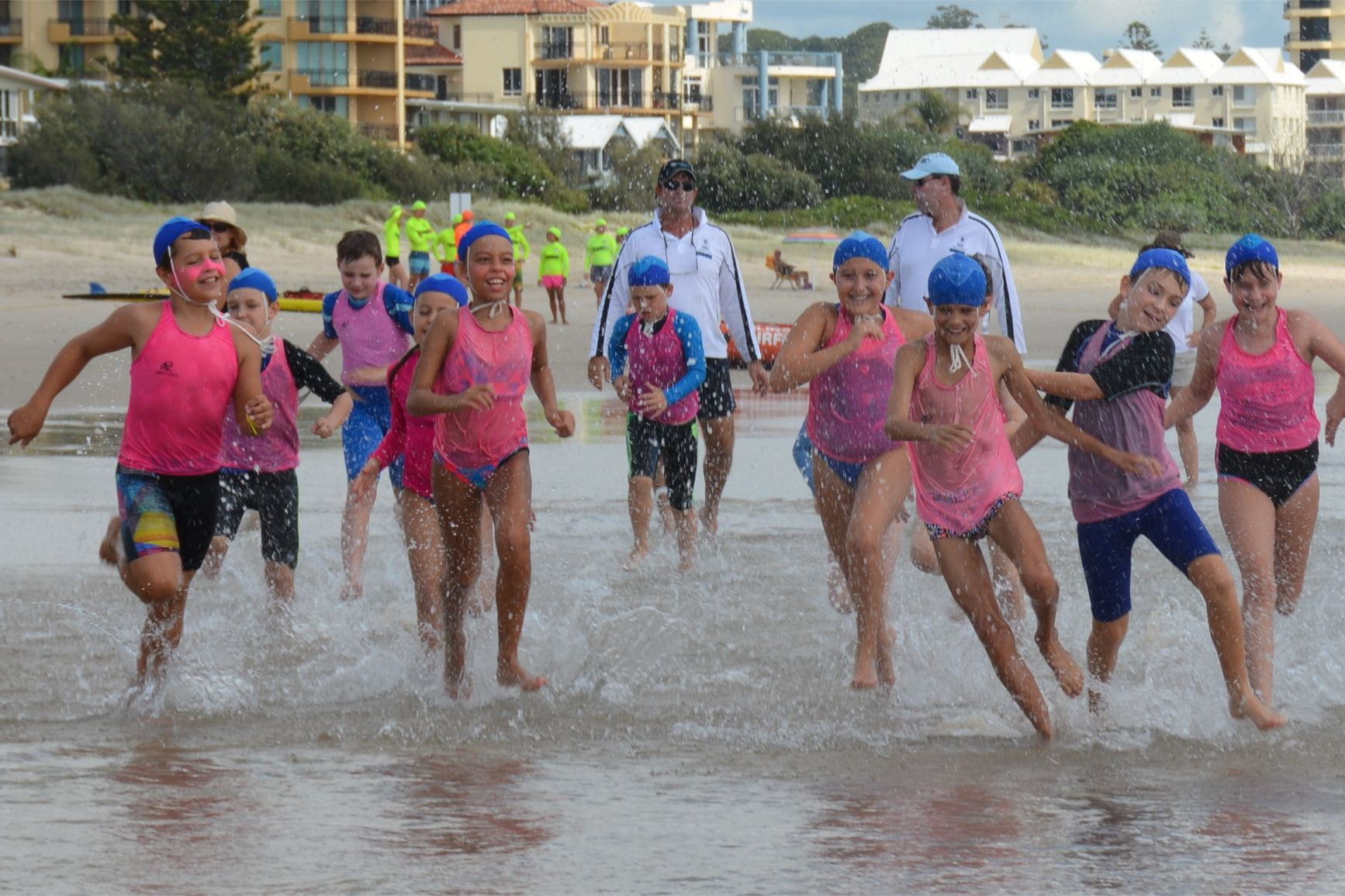 nippers run swim run fun